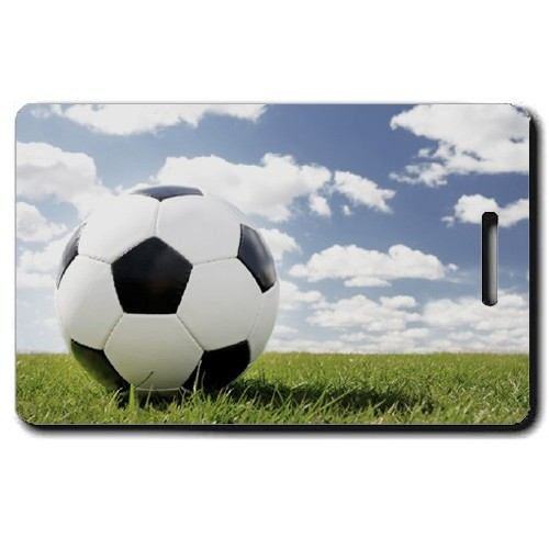 SOCCER PERSONALIZED LUGGAGE TAG