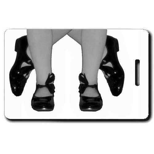 TAP DANCE PERSONALIZED LUGGAGE TAG
