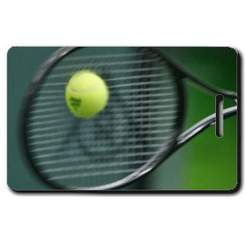 TENNIS PERSONALIZED LUGGAGE TAG