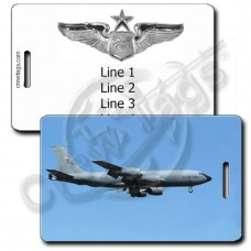 USAF KC-135R SENIOR NAVIGATOR LUGGAGE TAGS