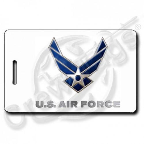 USAF LOGO LUGGAGE TAG