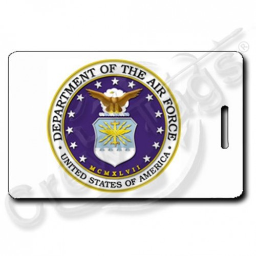 USAF SEAL PERSONALIZED  LUGGAGE TAGS