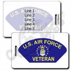 USAF VETERAN LUGGAGE TAGS