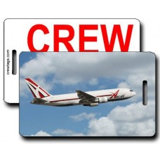 ABX AIR 767 CREW TAG