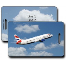 BRITISH AIRWAYS 747-436 LUGGAGE TAGS