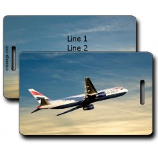 British Airways 767-336 Luggage Tags