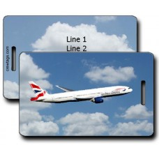 BRITISH AIRWAYS 777-236 LUGGAGE TAGS