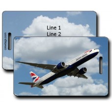 BRITISH AIRWAYS 777-336 LUGGAGE TAGS
