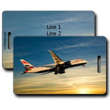 BRITISH AIRWAYS 787 LUGGAGE TAGS