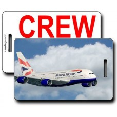 British Airways A380 Crew Tags