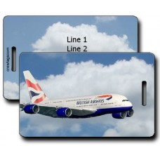 BRITISH AIRWAYS A380 LUGGAGE TAGS