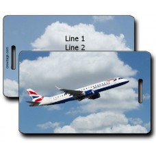 British Airways ERJ-190 Luggage Tags