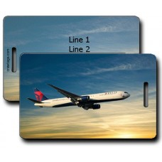 DELTA B767-432 LUGGAGE TAGS