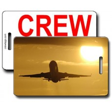Silhouette MD-11 Crew Tags