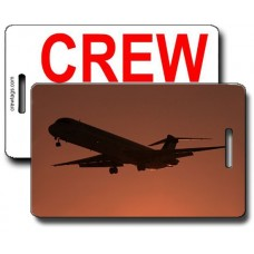 Silhouette MD-82 Crew Tags