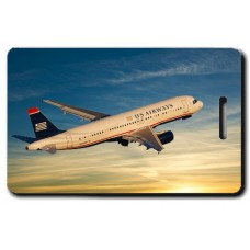 US Airways A320 Sunset Crew Tags