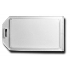 BUSINESS CARD HOLDER LUGGAGE TAG - CLEAR
