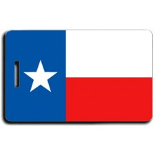 Texas State Flag Luggage Tags
