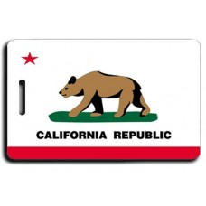 California State Flag Luggage Tags