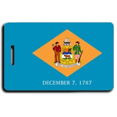 Delaware State Flag Luggage Tags