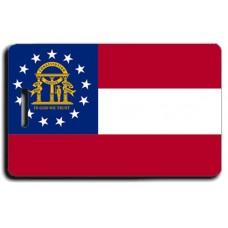 Georgia State Flag Luggage Tags