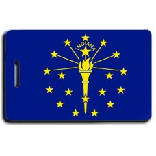 Indiana State Flag Luggage Tags
