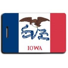 Iowa State Flag Luggage Tags
