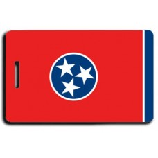 Tennessee State Flag Luggage Tags