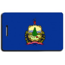 Vermont State Flag Luggage Tags