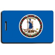 Virginia State Flag Luggage Tags