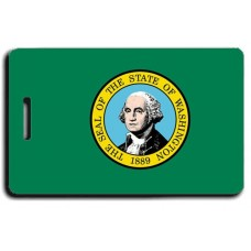 Washington State Flag Luggage Tags
