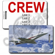 CESSNA SOVEREIGN CREW TAGS