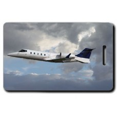 Lear Jet 60 Luggage Tags