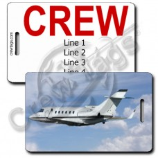 HAWKER 800 XP CREW TAGS