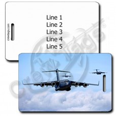 UNITED STATES AIR FORCE C-17 GLOBEMASTER LUGGAGE TAGS