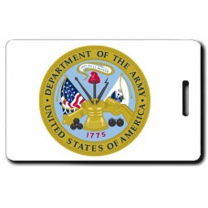 Army Seal Luggage Tags