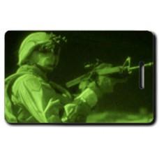 UNITED STATES ARMY NIGHT PATROL LUGGAGE TAGS