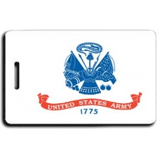 UNITED STATES ARMY FLAG LUGGAGE TAGS