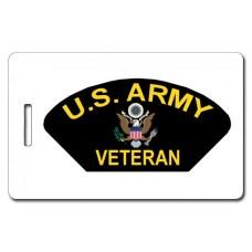 Army Veteran Luggage Tags