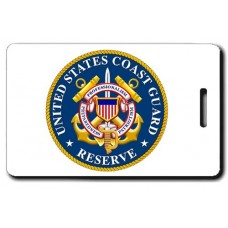USCG Reserve Seal Luggage Tag