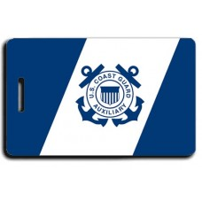 USCG Auxiliary Flag Luggage Tag