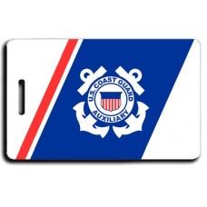 USCG Auxiliary Logo Luggage Tag