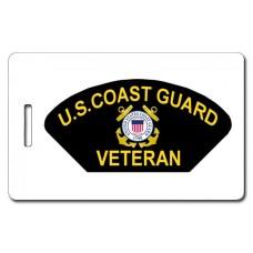 USCG Veteran Luggage Tag