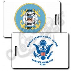 USCG Flag Luggage Tag