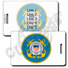 Seal of the Coast Guard Luggage Tag
