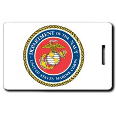 USMC Seal Luggage Tag