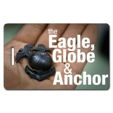 USMC The Eagle Globe and Anchor Luggage Tag