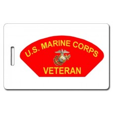 USMC Veteran Luggage Tag