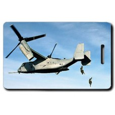 UNITED STATES MARINE CORPS MV-228 OSPREY LUGGAGE TAGS