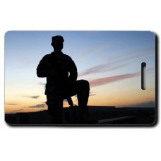 National Guard Soldier Luggage Tag